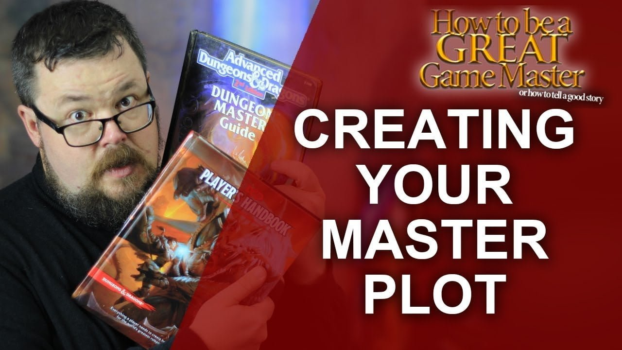 dungeon master creating your master plot