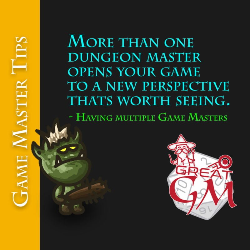 dungeon master multiple game masters new perspective meme
