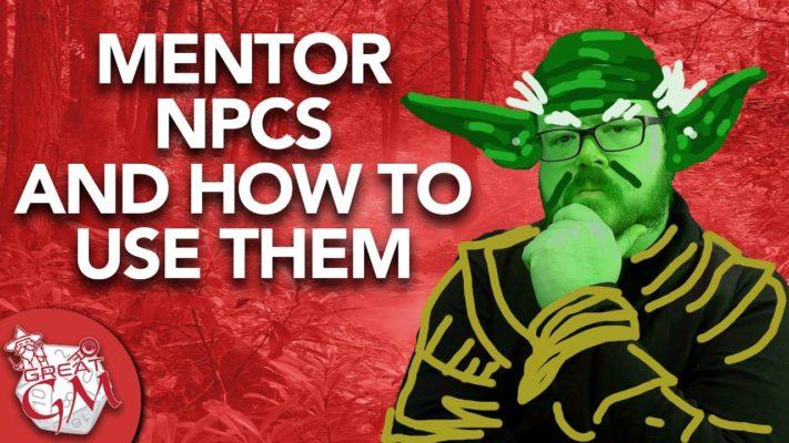 mentor npcs in d&d5e