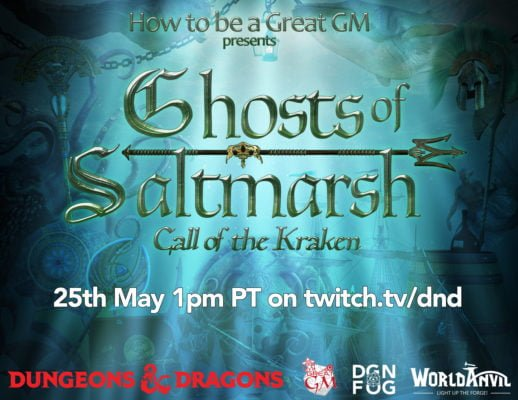 ghosts of saltmarsh dungeons and dragons 5th edition playthrough