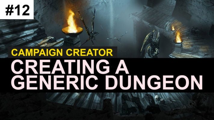 creating a dungeon in dungeons and dragons 5e