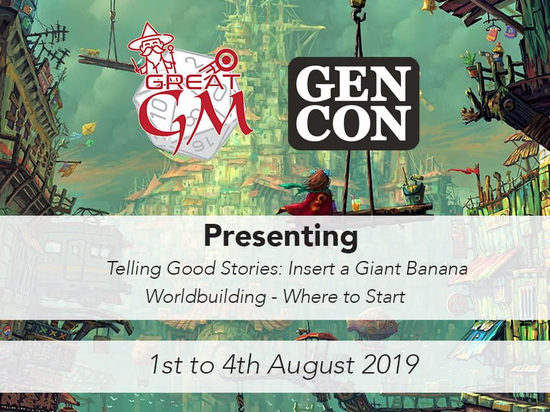 gencon 2019 how to be a great game master presenting